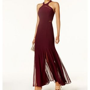 Halter Top Mermaid Prom / Bridesmaid Dress